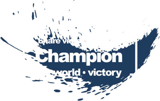 Share victory with the Champion